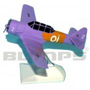 Maquete T-6D número 2 da Esquadrilha Oi - 17 cm