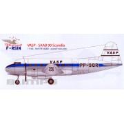 SAAB 90 Scandia VASP 1/144 - F-RSIN FRP14089