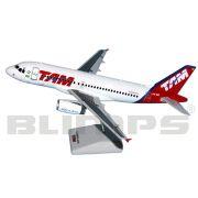 Maquete Airbus A319 TAM - 23 cm