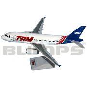 Maquete Airbus A319 TAM - pintura anos 90 - 23 cm