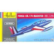 Fouga CM.170 Magister - 1/72 - Heller 80220