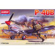 Curtiss P-40B Warhawk - 1/72 - Academy 12456