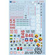 Decalque A-26 Invader 1/72 - FCM 72-031