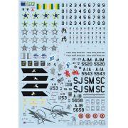 Decalque AMX A-1A 1/48 - FCM 48-048