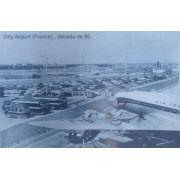 Placa de metal Aeroporto de Orly