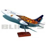 Maquete BOEING 737-200 PLUNA 30 CM
