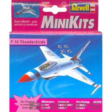 Minikit F-16 Thunderbirds - Revell 06589  - BLIMPS COMÉRCIO ELETRÔNICO