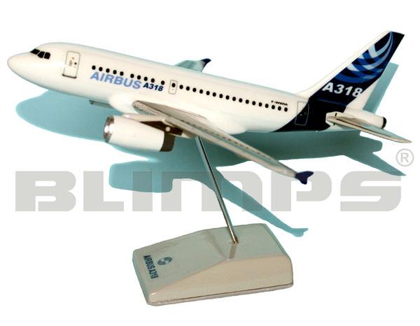 Maquete Airbus A318 Airbus - 17 cm  - BLIMPS COMÉRCIO ELETRÔNICO