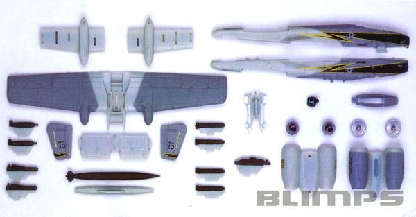SnapTite A-10 Thunderbolt - 1/100 - Revell 85-1371  - BLIMPS COMÉRCIO ELETRÔNICO