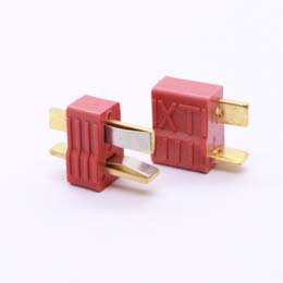 Plug Conector Deans T Macho + Fêmea  - iFly Electric Hobby