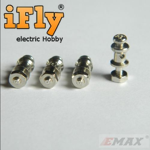 Linkage Stopper 0,8mm EMAX (4 un)  - iFly Electric Hobby
