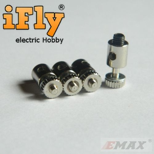 Linkage Stopper 1,8~2mm EMAX (4 un)  - iFly Electric Hobby