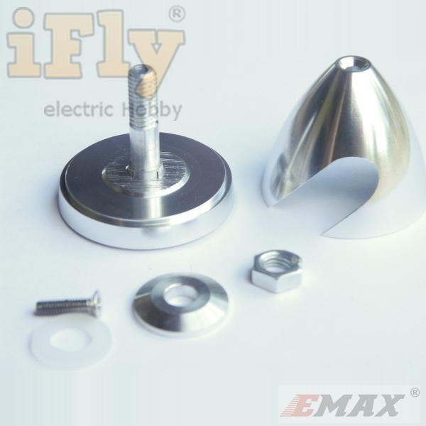 Spinner de Alta Precisão EMAX 30X30mm - Eixo 3mm  - iFly Electric Hobby