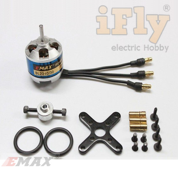 Motor Brushless EMAX Bl2210/30 1300kv  - iFly Electric Hobby