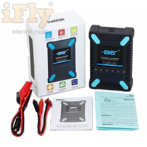 Carregador e Balanceador Imax B6 Compact  - iFly Electric Hobby