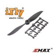 Hélice EMAX 9x3.8E Fast com Adaptadores - unidade
