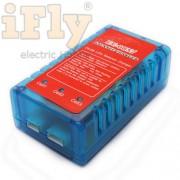 Carregador e Balanceador EMAX EC0857 2 a 3S - Lipo e Li-ion