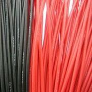 Fio de Silicone para 14AWG Vermelho (metro)