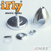 Spinner de Alta Precisão EMAX 40x37mm - Eixo 3mm