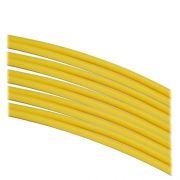 Termo Retrátil 4mm / 2:1 Amarelo - 1 Metro