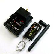 Módulo FR-Sky DJT + Transmissor V8FR-II