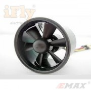 Turbina EDF EMAX 55mm 6 Pás com Motor 4500KV