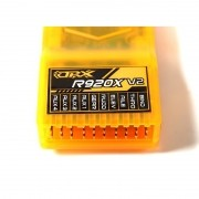 Receptor Orange R920x V2 2.4ghz Dsm2 / Dsmx 09 Ch Cppm Full Range