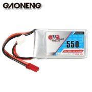 Bateria Lipo Gaoneng (GNB) 2s 7.4v 550mah 80˜160c apenas 36g