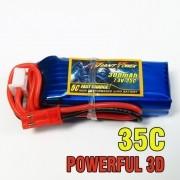 Bateria Lipo Giant 2s 7.4v 300mah 35c 17g