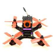 Drone Race 130mm com Controladora F4 Magnum EMAX, OSD, FPV,  Receptor e CAM Swift