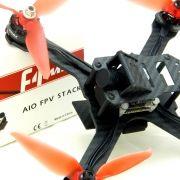 Drone Race 214mm com Controladora F4 Magnum EMAX, OSD, FPV e Receptor