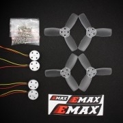 Kit Brushless EMAX RS 1104 5250 KV para micro drone 80 a 90mm