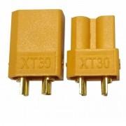 Plug Conector XT30 Macho + Fêmea