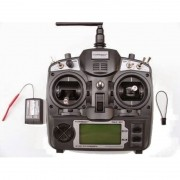 Rádio Turnigy 9X com Receptor