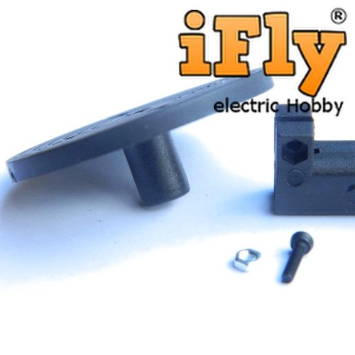 Montante para Motor Brushless em Nylon 24mm  - iFly Electric Hobby