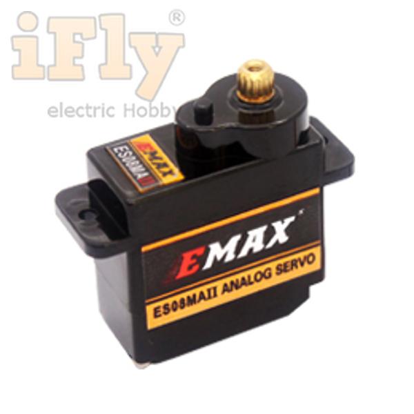 Servo EMAX ES08MAII Metal Gear  - iFly Electric Hobby