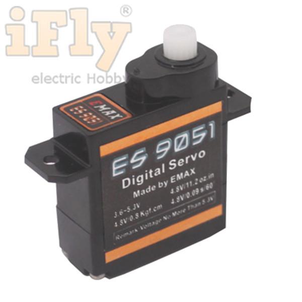 Servo EMAX ES9051 - Servo Digital 4,1g  - iFly Electric Hobby
