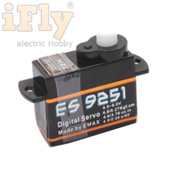 Servo EMAX ES9251 - Servo Digital 2,5g  - iFly Electric Hobby