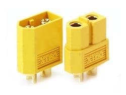 Plug Conector XT60 Macho + Fêmea  - iFly Electric Hobby