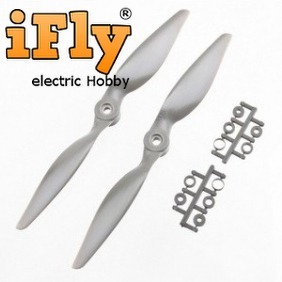 Hélice Estilo APC 7x5 com Adaptadores - par  - iFly Electric Hobby