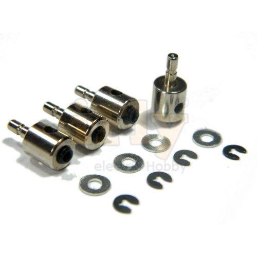 Linkage Stopper 2mm EMAX com Trava de Pressão (4 un)  - iFly Electric Hobby