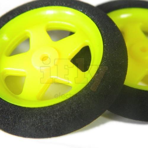 Roda Raiada 30x7x1mm 2g (par)  - iFly Electric Hobby
