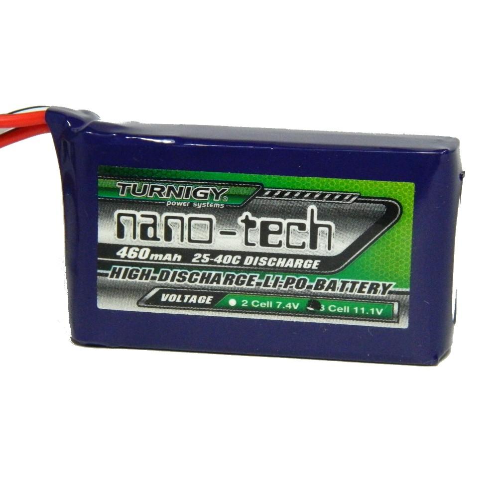 Bateria Lipo Turnigy Nano-tech 460mah 3s 11.1v / 25-40c  - iFly Electric Hobby
