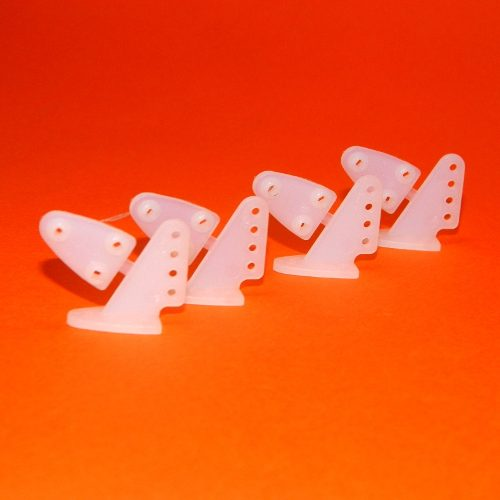 Horn 16.5x20mm - 4 Furos - (4 Unidades)  - iFly Electric Hobby