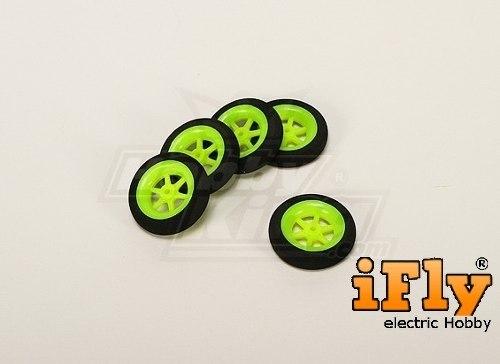 Roda Raiada 40x10x2mm 2,5g (par)  - iFly Electric Hobby