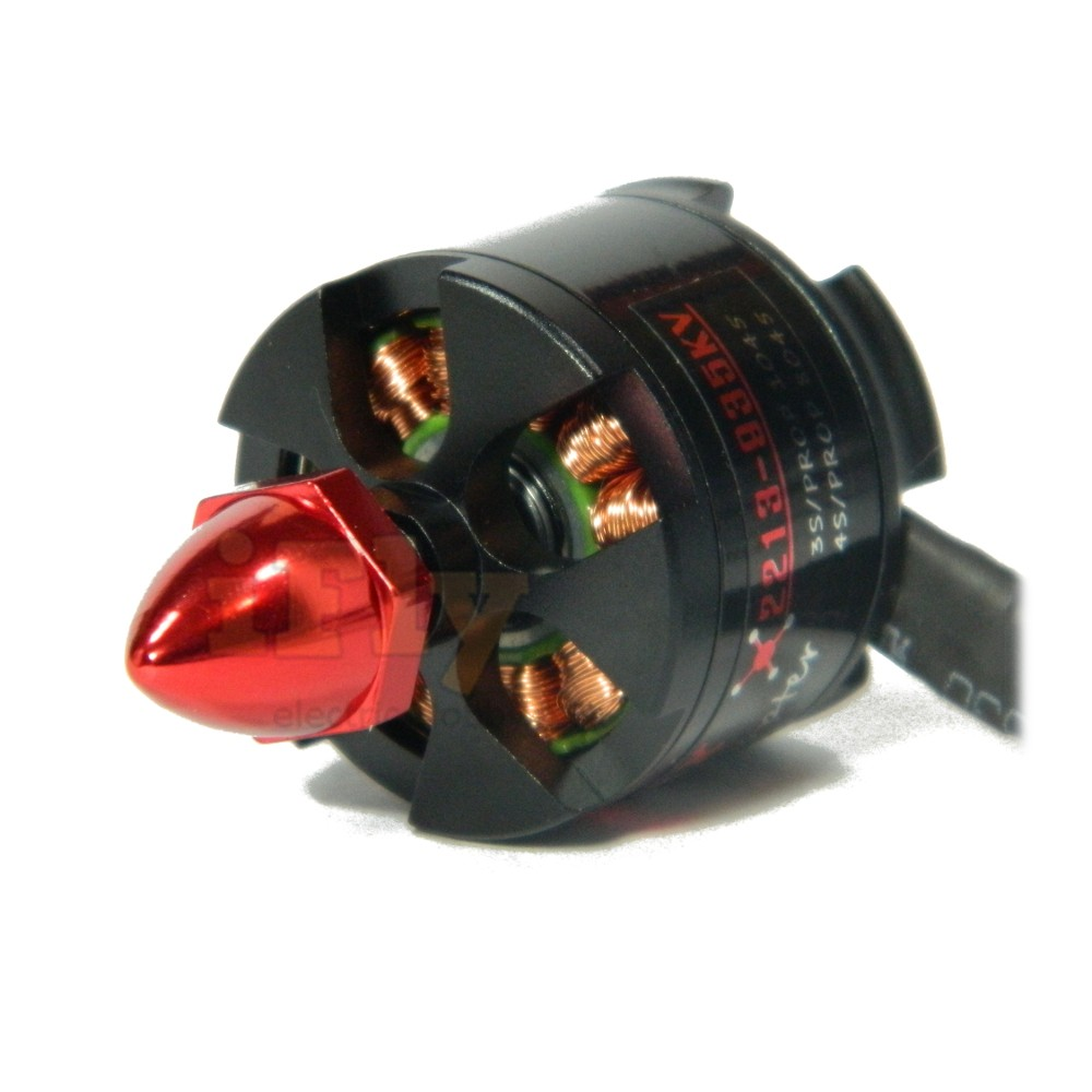 Motor Brushless EMAX MT2213 935 Kv CW para Multi-Rotores + Hélices  - iFly Electric Hobby