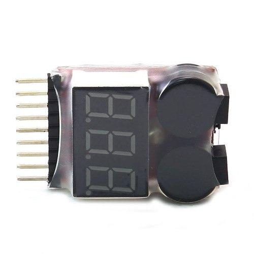 Alarme de Bateria Fraca Ajustável 2.8 a 3,7 Volts - 2 A 8s  - iFly Electric Hobby