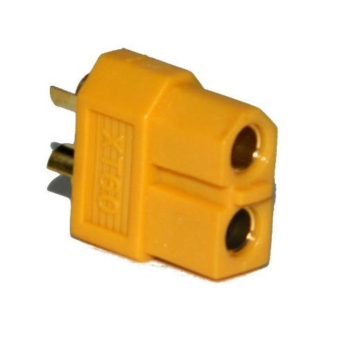 Plug Conector Xt60 Emax Fêmea  - iFly Electric Hobby
