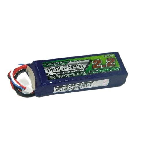 Bateria Lipo Turnigy Nano-tech 2200mah 3s 11.1v / 25-50c  - iFly Electric Hobby