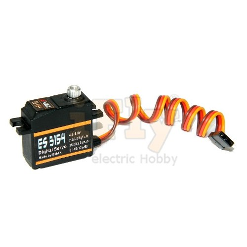 Servo EMAX ES3154 Digital de Metal Standart 19g 3kg Torque  - iFly Electric Hobby